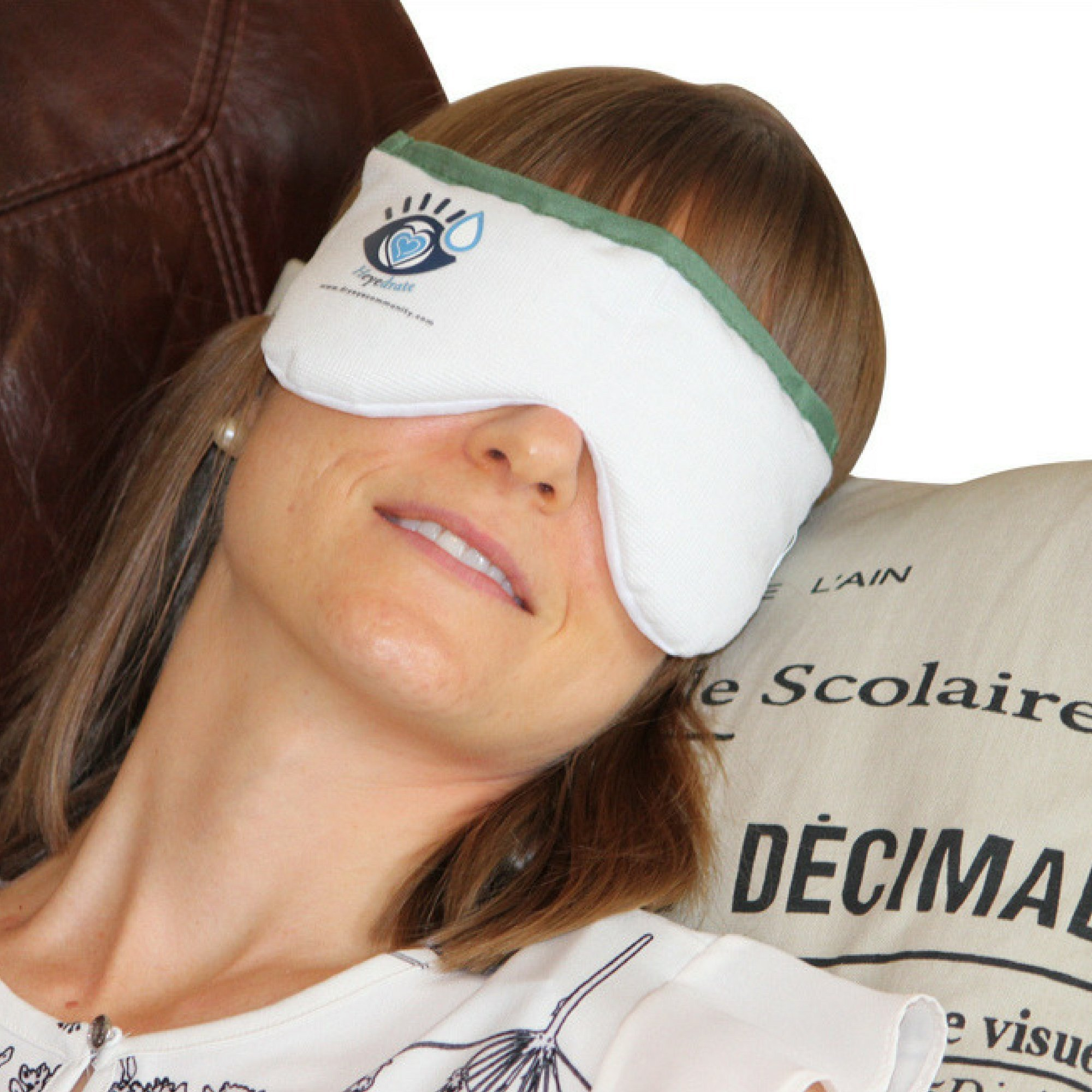 Dry Eye Mask by Heyedrate   Soothing Dry Eye Compress for Dry Eyes, Blepharitis, Meibomian Gland Dysfunction, Styes, Headaches, Sinuses, Allergies, and More