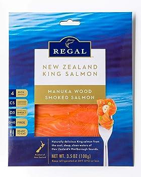 Regal 6 Pack Manuka Smoked King Salmon