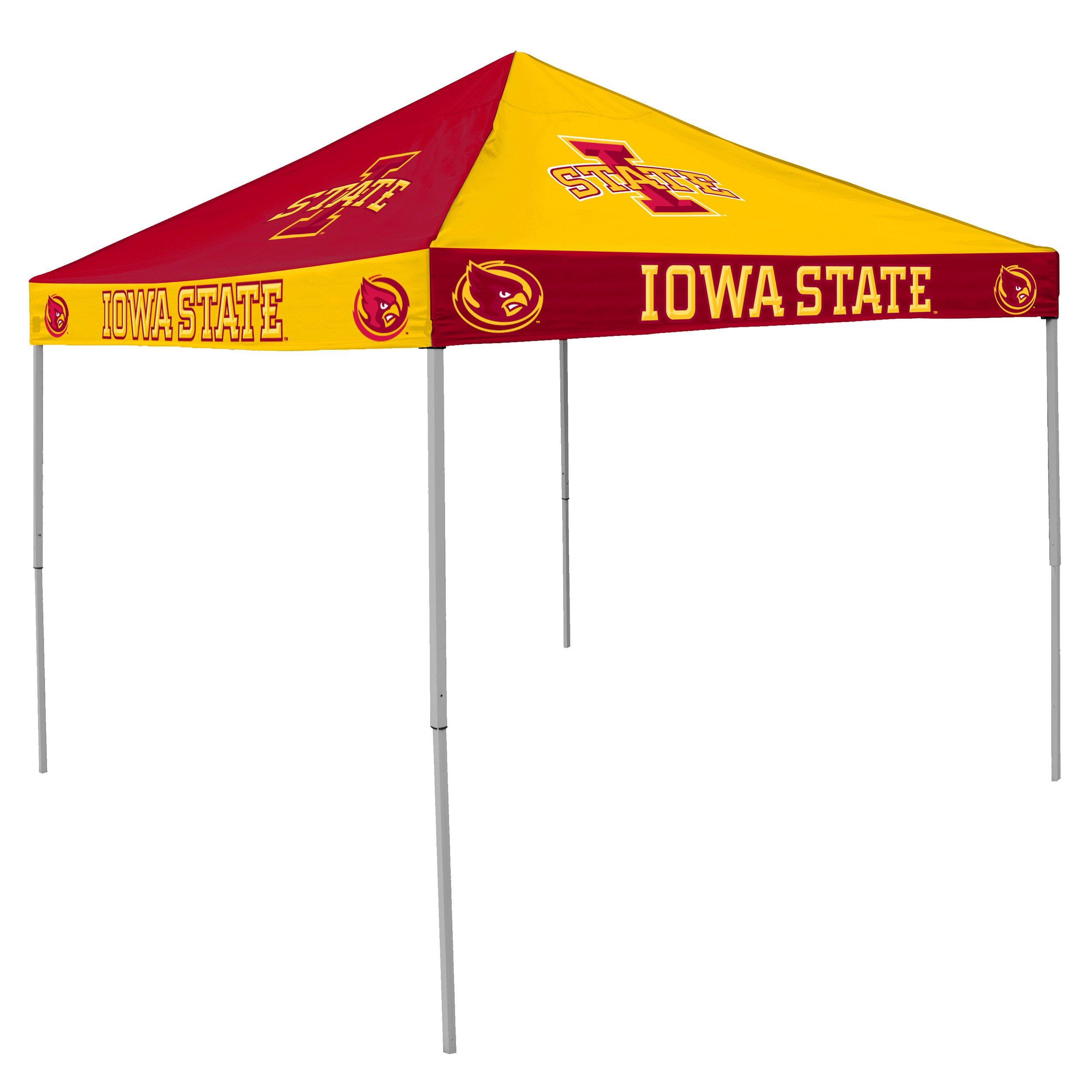 NCAA Iowa State Cyclones Checkerboard Tent by Logo Brands
