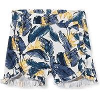 NAME IT Nmffibloom Shorts Pantalones Cortos para Niñas