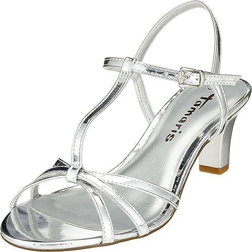 Sandaletten silber tamaris |