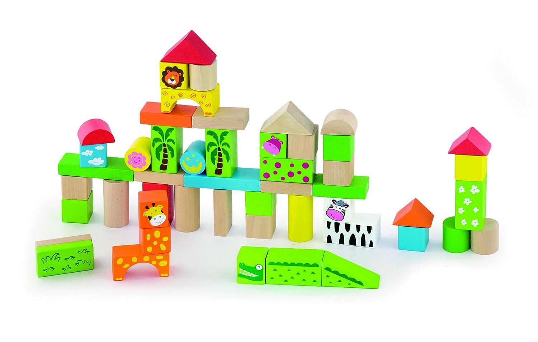 独創的 50個木製ブロックセット – – 動物園 動物園 B012VIWISA B012VIWISA, 刈谷市:b93bec79 --- a0267596.xsph.ru