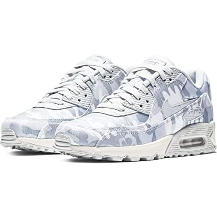 detailed look afca0 83e7f Nike Women s Air Max 90 CSE Camouflage-Print Sneakers, Pure Platinum Summit  White