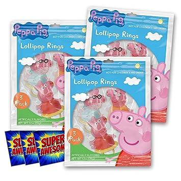 Amazon.com: Peppa Pig Snack Pack ~ Ideal para escuelas ...
