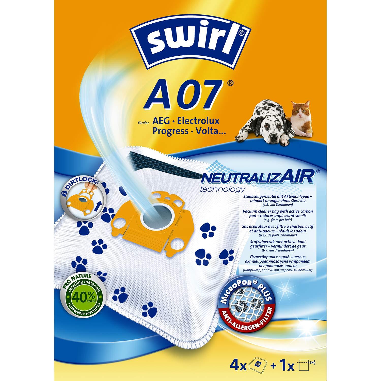 Amazon.com: Swirl A07 NeutralizAir - Bolsa para aspiradora ...