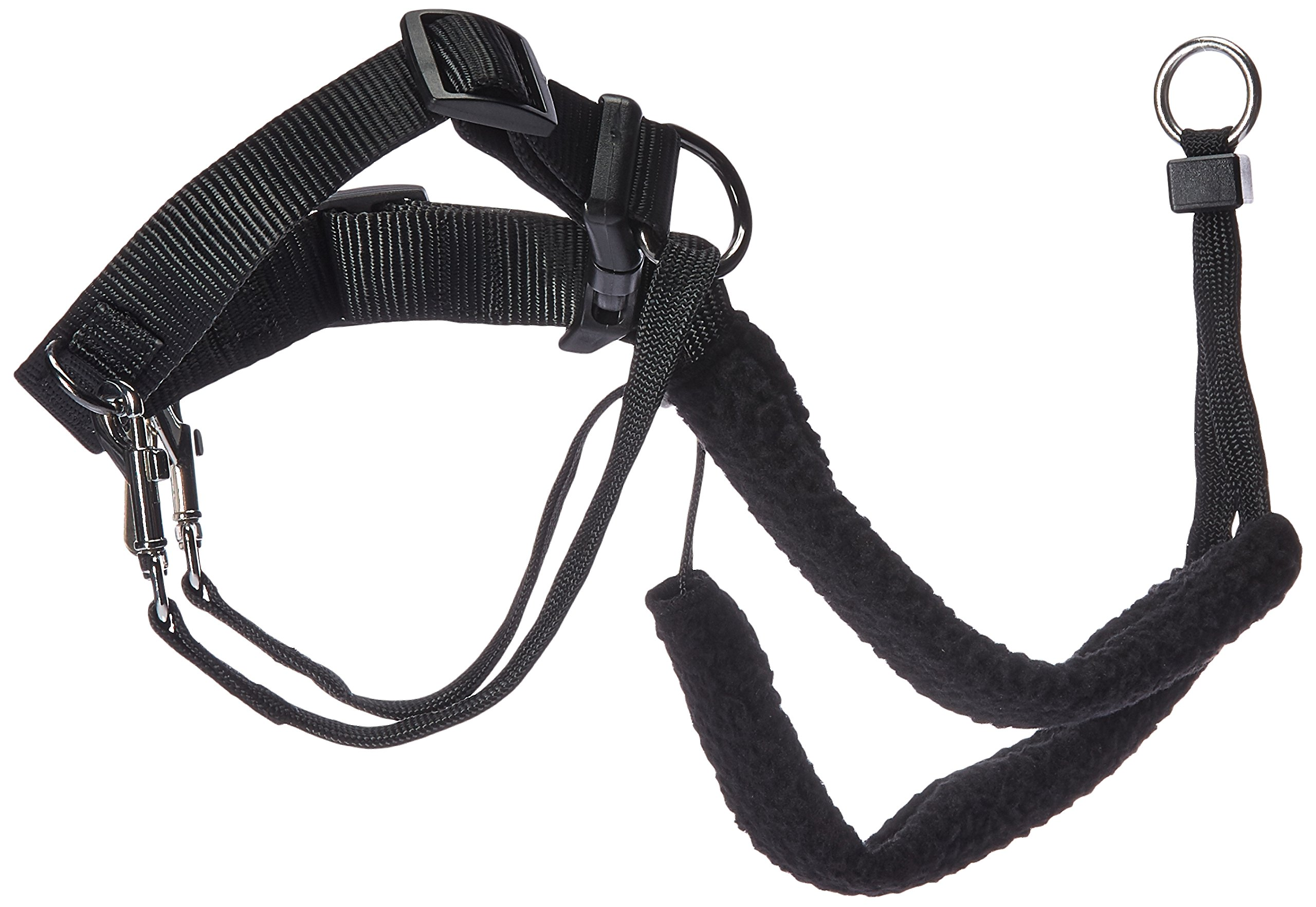 Sporn Dog Halter - Non-Pull No-Choke Humane Pet Training Halter Harness, Easy Step-in Vest Collar Halter for Control, Detachable Restraints & Sherpa Sleeves, Patented Dog Pull Control Technology by