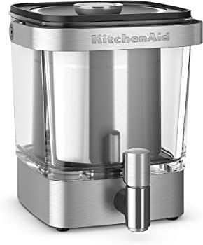 KitchenAid Brushed Stainless Steel 38 Ounce Cold Brew Coffee Maker