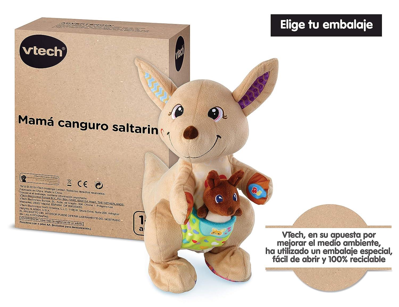VTech Mamá Canguro Saltarina, SPB, Color (80-522667)