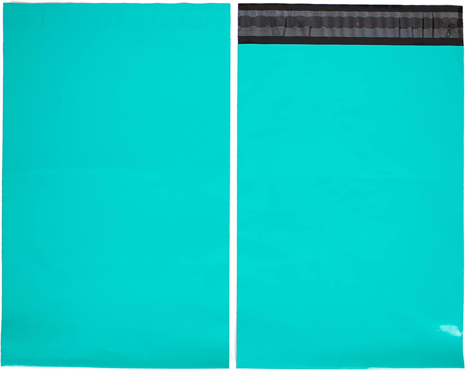 12.5x15.5, 100 Pack Emerald Poly Mailers 12.5x15.5-100 Pack 3.15mil Unpadded Mailing Envelopes Inspired Mailers Choose from Many Size and Color Options