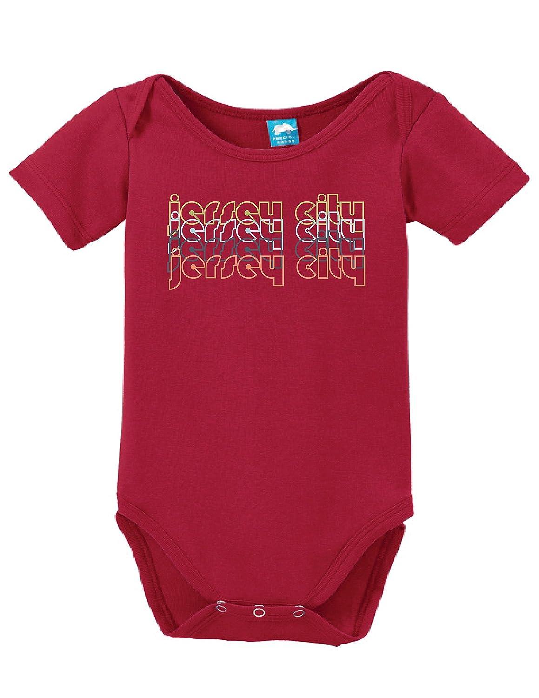 5a7323e02 Amazon.com: Sod Uniforms Jersey City New Jersey Retro Printed Infant  Bodysuit Baby Romper: Clothing