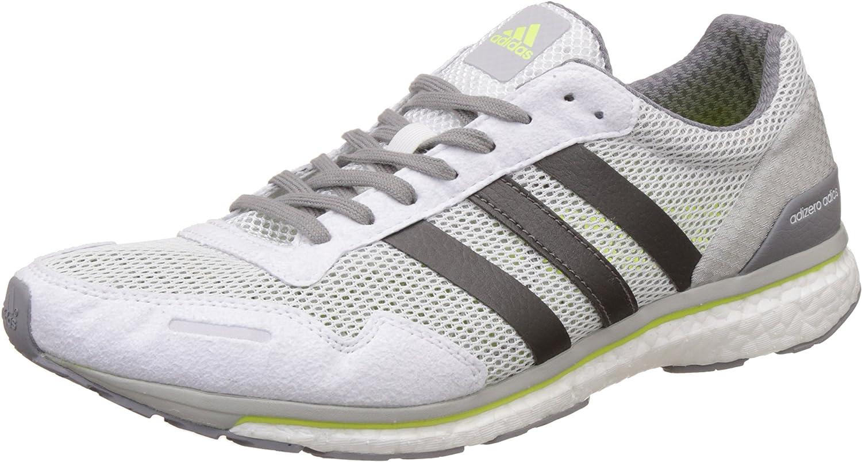adidas Adizero Adios M, Zapatillas de Running para Hombre: Amazon ...