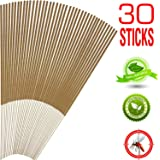 Amazon Price History for:Mosquito Sticks, All Natural and DEET Free Insect Repellent, Eco friendly, Non toxic, Bamboo infused with Citronella, Lemongrass & grapefruit peel, for Outdoor Garden Yard and Indoor
