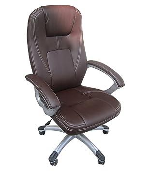 Silla de escritorio, elegante, gran calidad, diseño ejecutivo, piel ...