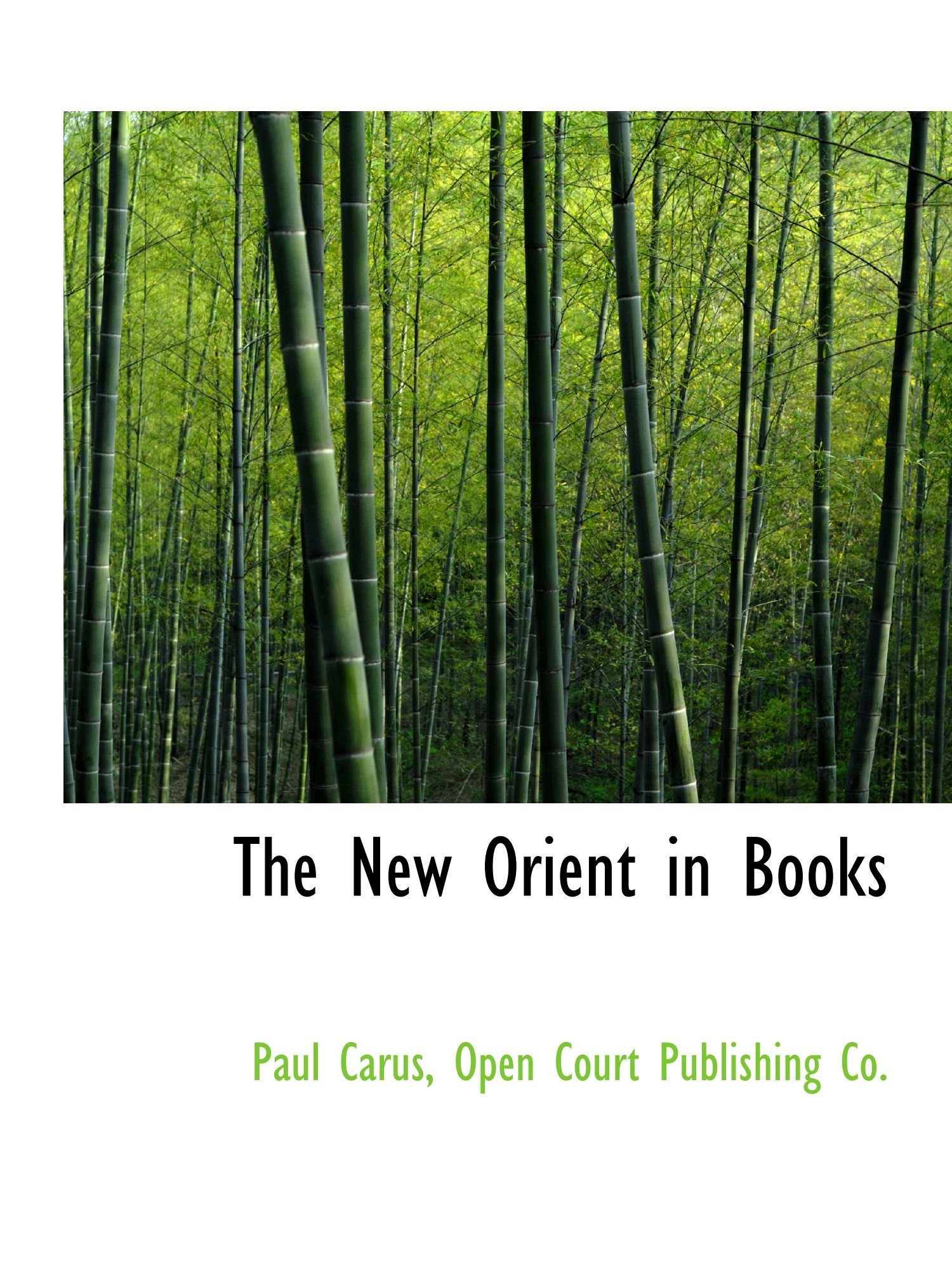 Download The New Orient in Books ebook