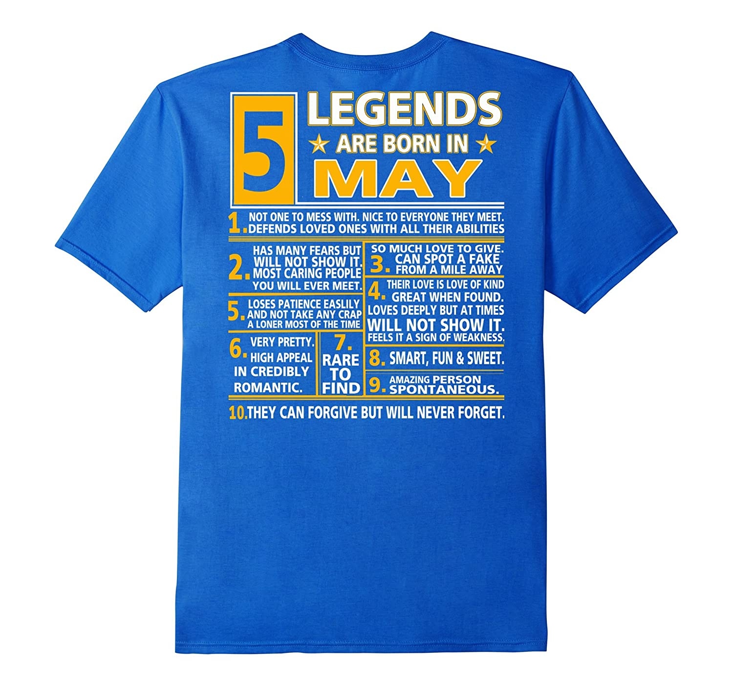 Legends Are Born In May T-Shirt / Taurus shirt-CL