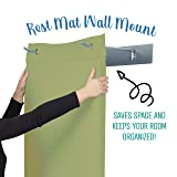 ECR4Kids SoftZone Hanging Rest Mat Set with Wall