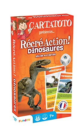 France Cartes Fundels 410161 - Cartatoto Recreation Dinosaur ...