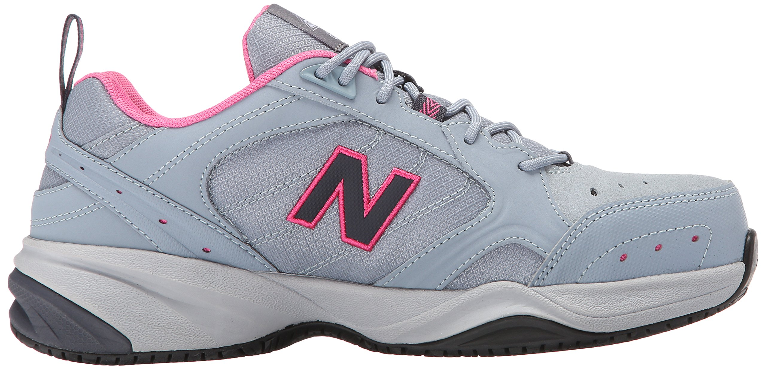 New Balance Women's WID627V1 Steel Toe Training Work Shoe,Light Grey/Pink,8 B US by New Balance (Image #7)