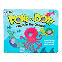 Melissa & Doug Children's Book - Poke-A-Dot: Who's in The Ocean (Board Book with...
