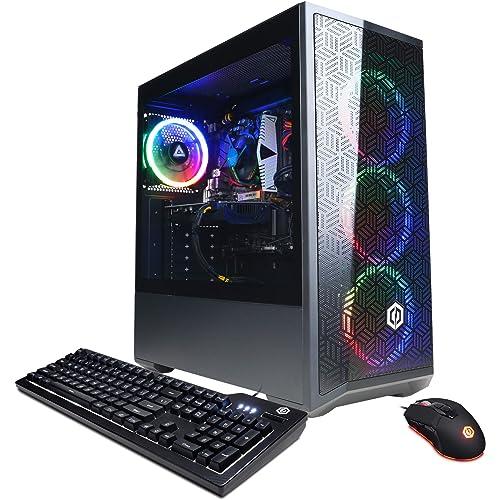CyberpowerPC Gamer Xtreme VR Gaming PC, Intel i5-10400F 29GHz, GeForce GTX 1660 Super 6GB, 8GB DDR4, 500GB NVMe SSD, Wi…