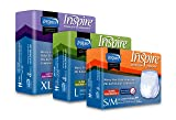 Inspire Adult Diaper Incontinence Underwear, Extra