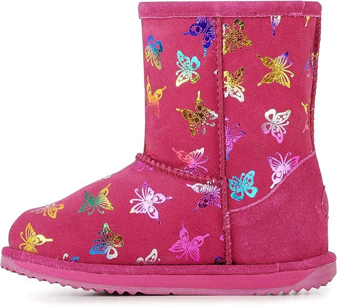 EMU Australia Kids Flutter Brumby Wool EMU Boots