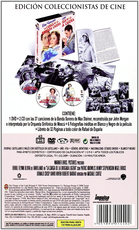 Amazon.com: La Carga De La Brigada Ligera (Ed. Coleccionista) (The Charge Of The Light Brigade): Movies & TV