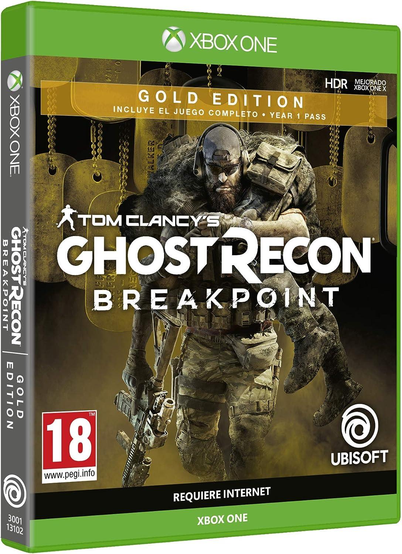 Ghost Recon Breakpoint - Gold Edition: Amazon.es: Videojuegos