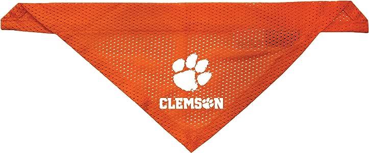 Littlearth Clemson Tigers Dog Cat Mesh Jersey Bandana S//M