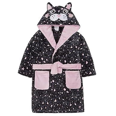 92c1f151a1593 The Pyjama Party Filles Chat Noir Peignoir Robe de Chambre  I Love Chat  Naps