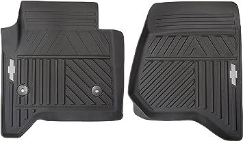Amazon Com Gm Accessories 84039114 Front All Weather Floor Mats