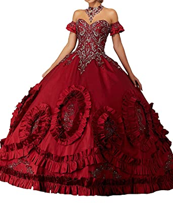 0651cc0f388 Women s Gothic Masquerade Dresses Victorian Fancy Palace Quinceanera Dress  at Amazon Women s Clothing store