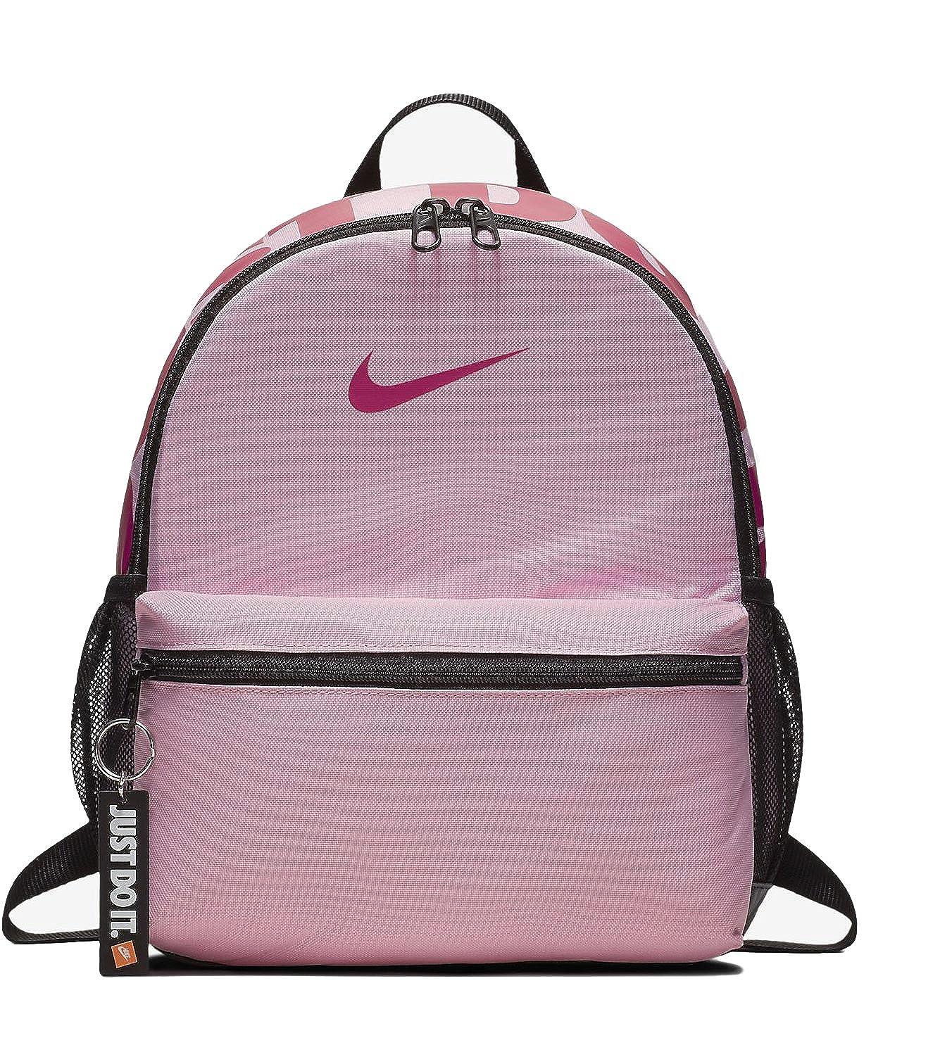 fce7d06d80 Nike Y NK BRSLA JDI MINI BKPK - Zaini Unisex Bambini, Multicolore  (Pink/Black/Rush Pink), 15x24x45 cm (W x H L): Amazon.it: Scarpe e borse