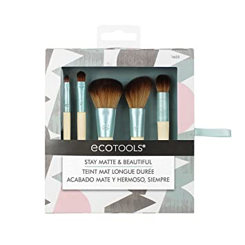 b710c988e EcoTools-Cruelty Free Stay Matte & Beautiful Kit-Complexion Blending, Full  Concealer,