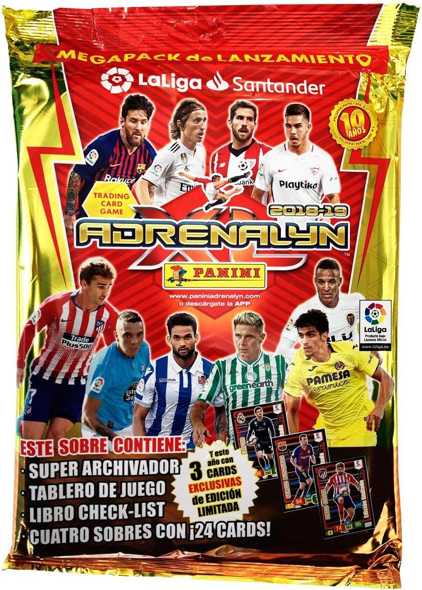 Liga Santander - Megapack Adrenalyn 2018-2019 (003714SPE2): Amazon.es: Juguetes y juegos