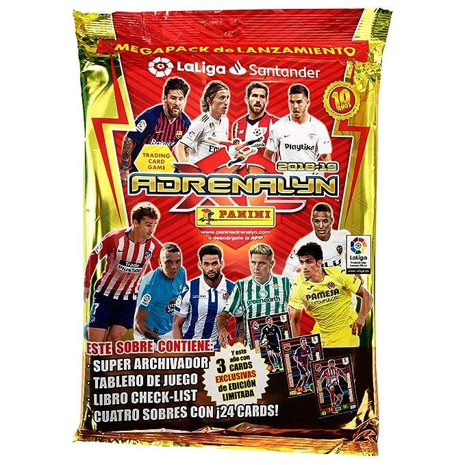 Liga Santander - Megapack Adrenalyn 2018-2019 (003714SPE2): Amazon ...