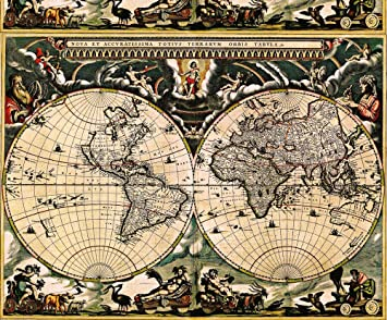 Amazon map fabric vintage world map 1 by whimzwhirled map map fabric vintage world map 1 by whimzwhirled map fabric with spoonflower printed gumiabroncs Choice Image