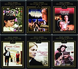 Hallmark 6-Movie Gold Crown Edition Collection - The Courageous Heart of Irena Sendler, Front of the Class, Rose Hill, Harvest of Fire, The Secret Garden, & Love Is Never Silent 6-Movie Bundle