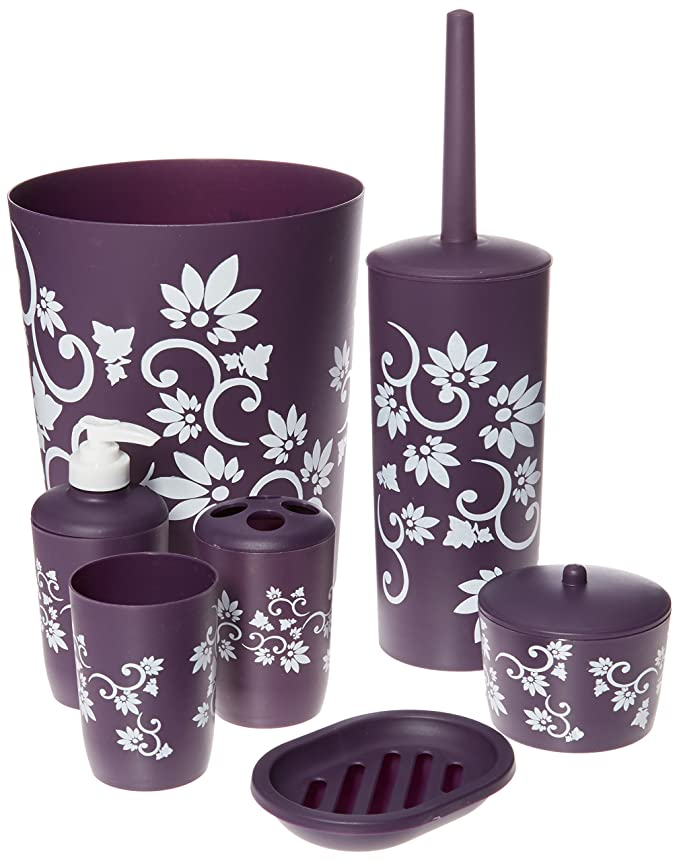 Purple Gl Bathroom Accessories on purple kitchen accessories, purple jewelry accessories, purple home accessories, purple car accessories, purple wedding accessories, purple flower pots, purple wall accessories, purple room accessories, purple desk accessories, purple bedroom, purple shower curtains and accessories, purple furniture accessories, purple beds,