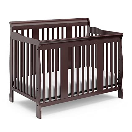 4 in 1 Convertible Baby Crib Mattress Infant Toddler Bed Nursery Newborn GRAY