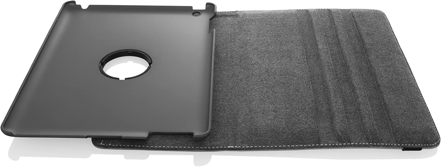 Targus VersaVu Apple iPad 2/3/4 Classic 360-Degree Rotating Case and Stand Cover, Water Resistant, Stylus Holder, Multi-Angle Viewing, Secure Strap Closure, Black (THZ156US)