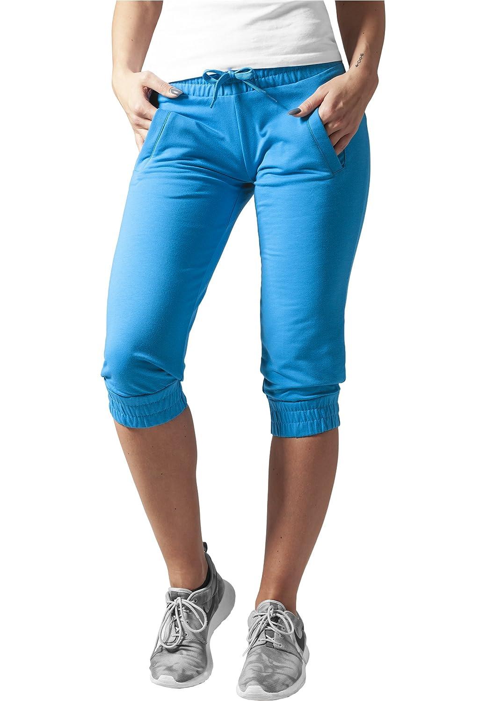 Urban Classics Ladies French Terry Capri Streetwear Pantalón ...