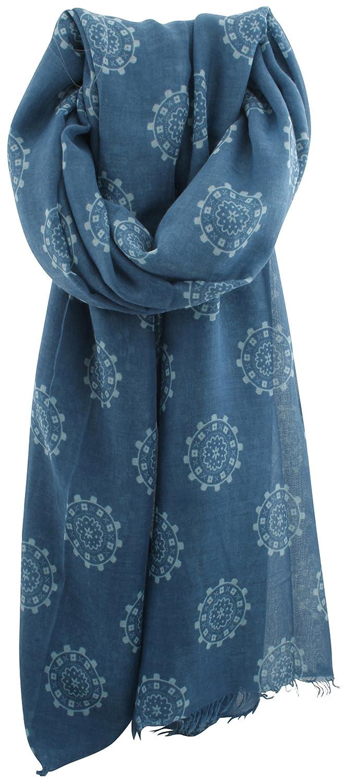Zest - Bufanda - para mujer Azul azul Talla única