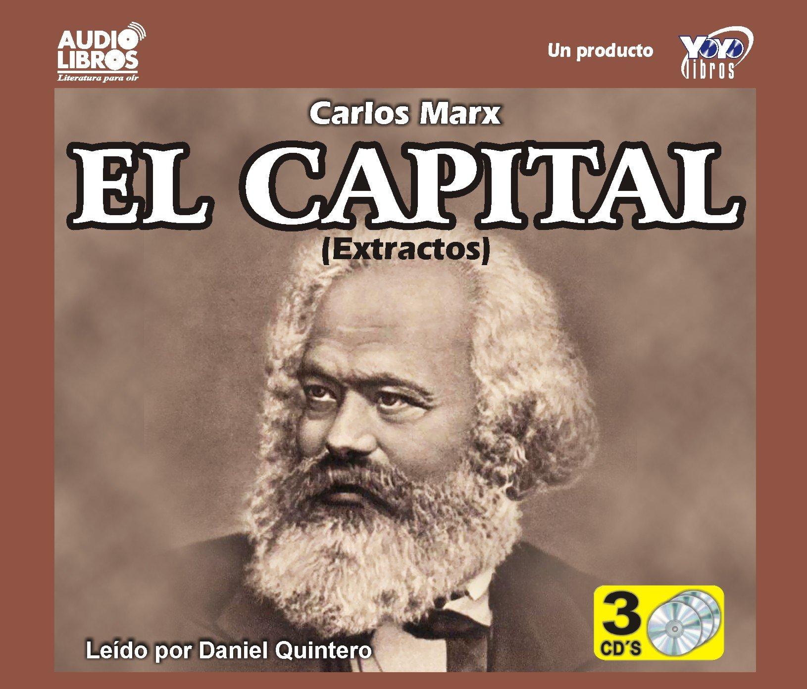 El Capital (Capital - Critic of political economy) (Spanish Edition): Carl  Marx: 9789587470680: Amazon.com: Books