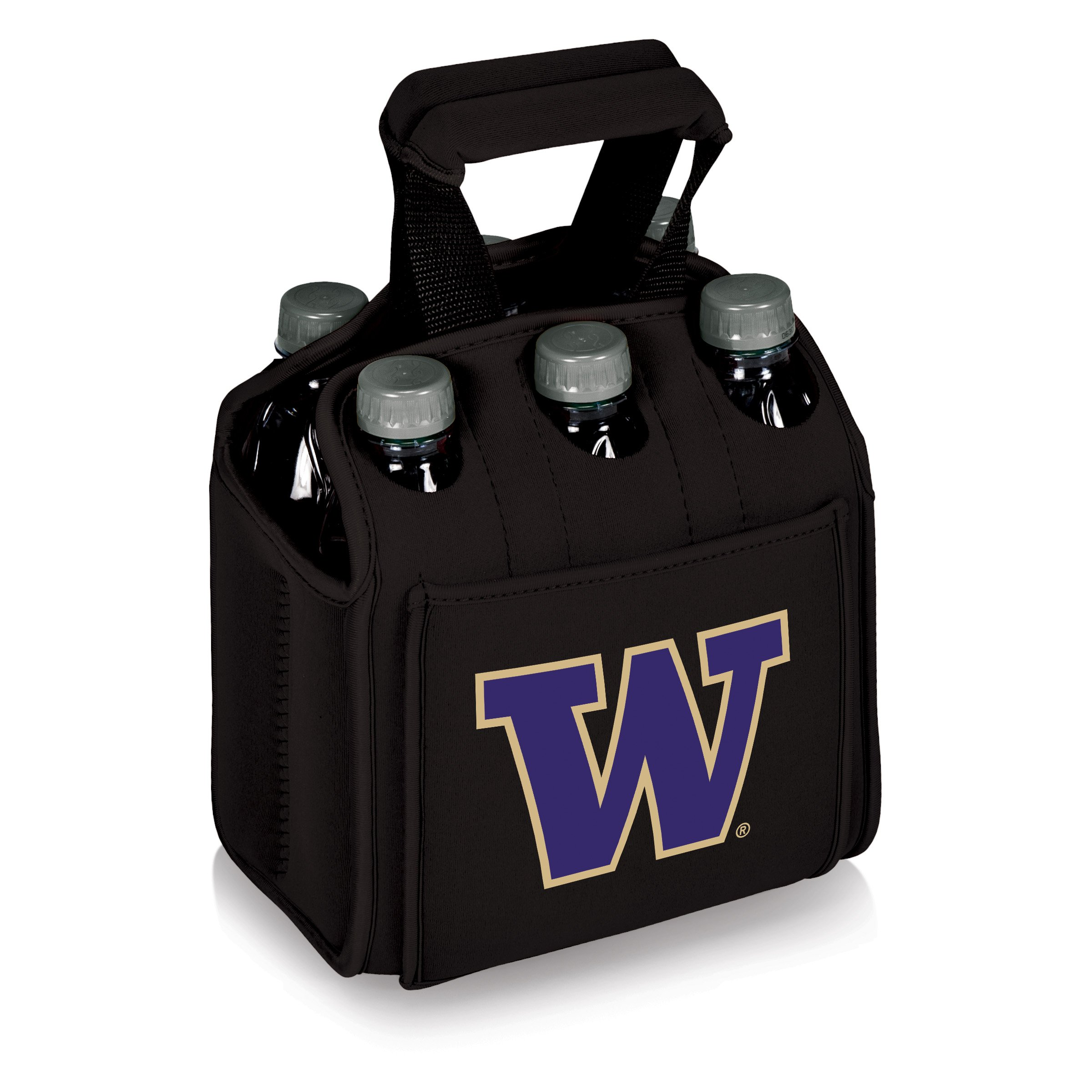 PICNIC TIME NCAA Washington Huskies Six Pack Cooler Tote