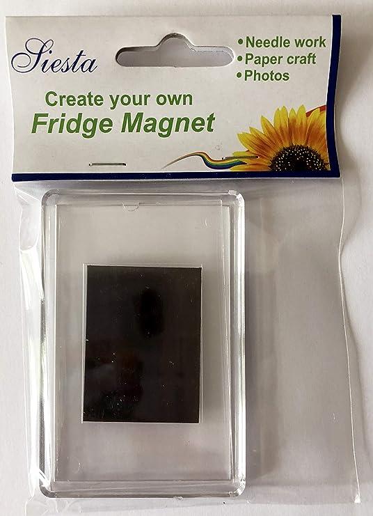 Imán del refrigerador de plástico vacía: Amazon.es: Hogar
