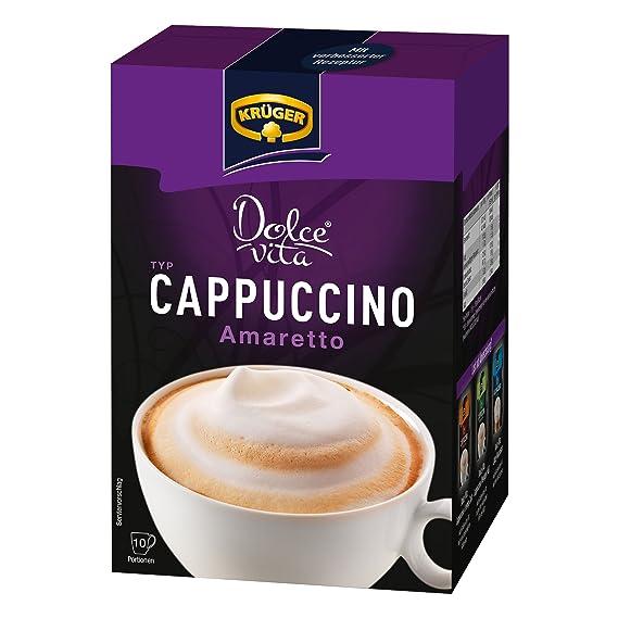 Krüger Dolce Vita Cappuccino, Amaretto, Café con Leche, Café con Leche a Base