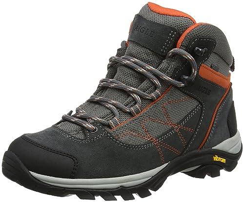 Aigle MOOVEN Mid W Gore-Tex, Zapatos de High Rise Senderismo para Mujer, Gris (Darkgrey/PAPAYE), 40 EU: Amazon.es: Zapatos y complementos