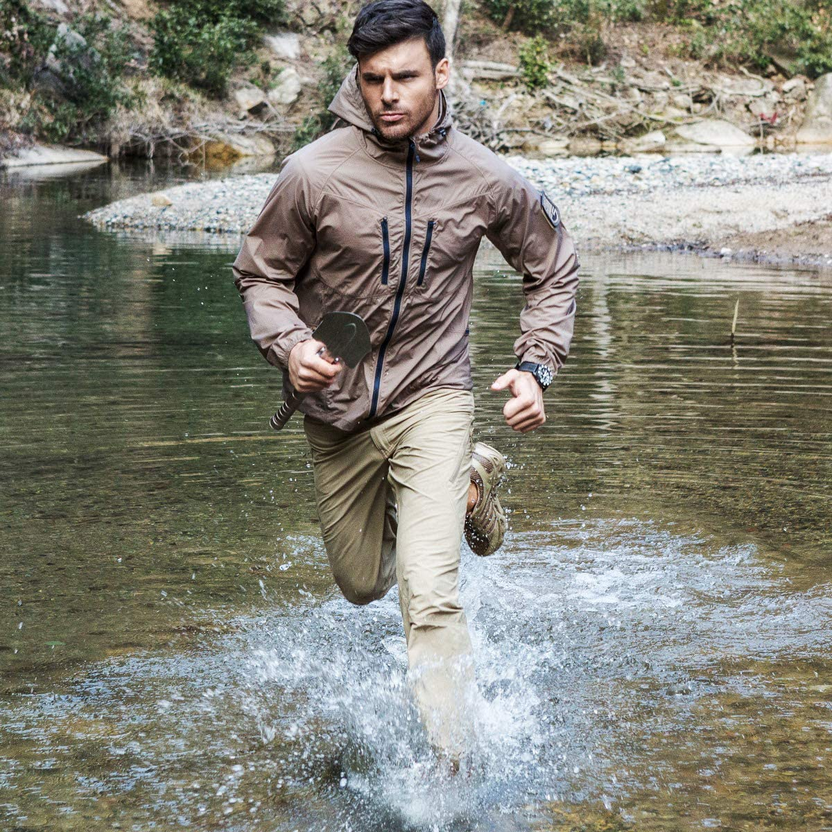 FREE SOLDIER Mens Quick Dry Tactical Pants Stretch Fishing Sun Pants