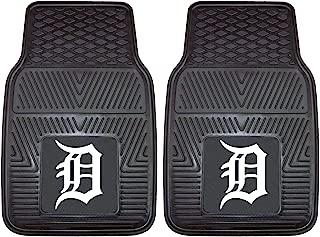 "product image for FANMATS 8837 MLB Detroit Tigers Vinyl Heavy Duty Car Mat,Black,18""x27"""